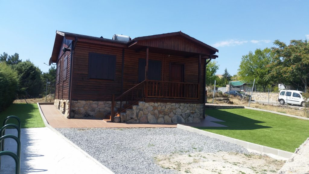 Casa rural de Peguerinos, imagen exterior